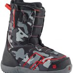 Burton Ambush Smalls Boot – Black Red