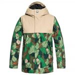 DC Defy Youth Jacket Chive Leaf Camo