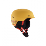 Anon Flash Helmet – Pizza Yellow