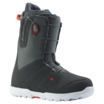 Burton Moto Snowboard Boot – Gray/Red