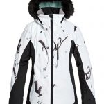 Roxy Jet Ski Premium Jacket – True Black White Birds