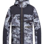 Quiksilver Arrow Wood Jacket Black Snowscene