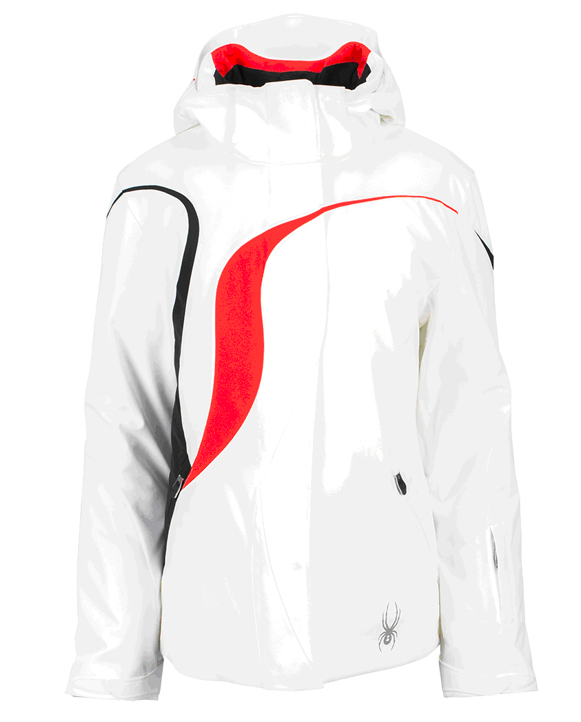 Spyder Power Jacket White – US8 and US10  a0d600665a0b