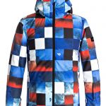 Quicksilver Boys 8-16 Mission Printed 10K Snow Jacket