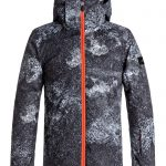 Quicksilver Boys 8-16 Travis Rice Mission Printed 10K Snow Jacket