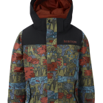 Burton Minishred Boys Amped Jacket NeverEndingStory/TrueBlack
