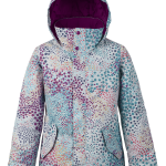 Burton Girls Elodie Jacket Stout White Dots