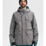 Burton Men's Covert Jacket Bog Heather